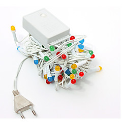 1kpl johti kotiin joulu ulkona koristella 9m 72dip string valot