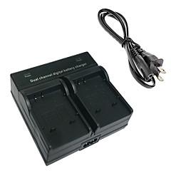 소니 BK1 W190 S750 S780 S950 S980 W370에 대한 BK1 디지털 카메라 배터리 듀얼 충전기