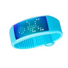 Blue W4 Intelligent 3D Pedometer Watch