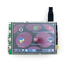 New Raspberry Pi 3.2 -Inch Resistance Raspberries Pie Touch-Screen Display LCD Display