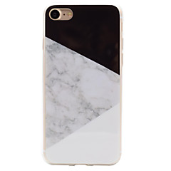 Varten iPhone 7 kotelo / iPhone 6 kotelo / iPhone 5 kotelo IMD Etui Takakuori Etui Marmori Pehmeä TPU varten AppleiPhone 7 Plus / iPhone