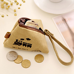 Rice Dumpling Design Linen Change Purse Random Color