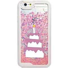 Flowing Quicksan Liquid/Pattern Cartoon Cake PC Hard Case For Apple iPhone 6s Plus/6 Plus/iPhone 6s/6/iPhone SE/5s/5