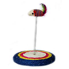 Zabawka dla kota Zabawki dla zwierząt Interaktywne Wędki dla Kota Drapak Myszka Sznurkowy sizal