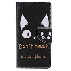For Sony Xperia X Performance XA Card Holder Wallet with Stand Case Full Body Case Cat Hard PU Leather