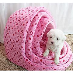 Gato / Cachorro Camas Animais de Estimação Capachos e Alcochoadas Macio Rosa / Cor de Rosa Tecido
