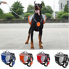 Cachorro Tranportadoras e Malas / Pacote de cão Animais de Estimação Transportadores Prova-de-Água / PortátilVermelho / Preto / Azul /