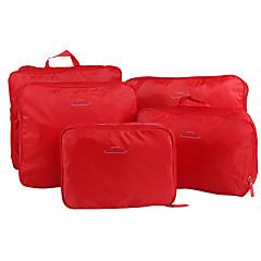 נסיעות תיק טיולים\נסיעות / ארגונית לאריזה / קוביות לאריזה אחסון לטיולים מתקפל / נייד בד חלק