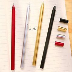 Metal Color Plating Gel Pen Set(10 PCS)