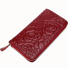 Travel Wallet Passport Holder & ID Holder Waterproof Dust Proof Portable for Travel StorageBlack Brown Blushing Pink Wine