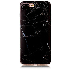 Για IMD tok Πίσω Κάλυμμα tok Μάρμαρο Μαλακή TPU AppleiPhone 7 Plus / iPhone 7 / iPhone 6s Plus/6 Plus / iPhone 6s/6 / iPhone SE/5s/5 /