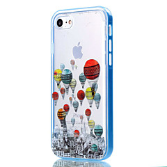 Til iPhone 8 iPhone 8 Plus iPhone 7 iPhone 6 iPhone 5 etui Etuier Transparent Mønster Bagcover Etui Ballon Blødt TPU for Apple iPhone 8