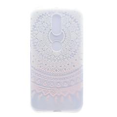 Til motorola moto g4 plus x1 pink solsikke mønster høj permeabilitet tpu materiale telefon shell