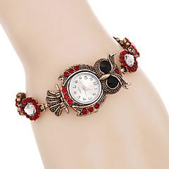 Mujer Reloj de Moda Reloj de Pulsera Reloj Pulsera Simulado Diamante Reloj Cuarzo / Punk Colorido La imitación de diamante Aleación Banda