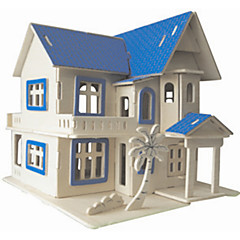 Dream House Wooden Simulation/Stereo DIY Assembly Model Educational Toys