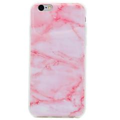 Für IMD Hülle Rückseitenabdeckung Hülle Marmor Weich TPU AppleiPhone 7 plus / iPhone 7 / iPhone 6s Plus/6 Plus / iPhone 6s/6 / iPhone