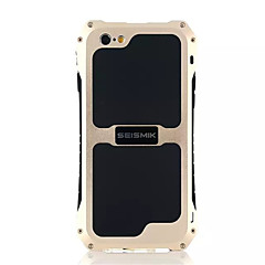 Na Etui iPhone 6 / Etui iPhone 6 Plus / Etui iPhone 5 Woda / Dirt / Shock Proof Kılıf Etui na tył Kılıf Jeden kolor Twarde Metal Apple