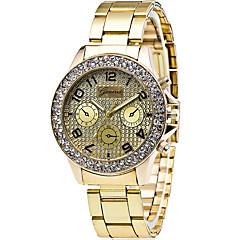 Men's Fashion Quartz Casual Watch Diamond Classic Stainless Steel Belt Round Alloy Dial Watch Cool Watch Unique Watch