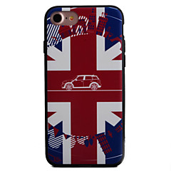 Mert Dombornyomott / Minta Case Hátlap Case Zászló Kemény Akril Apple iPhone 7 Plus / iPhone 7 / iPhone 6s Plus/6 Plus / iPhone 6s/6