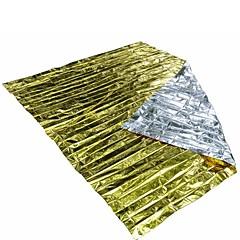 Emergency Blanket Wandelsport Waterdicht / Overleving / Noodgeval / EHBO ander Goud / zilver
