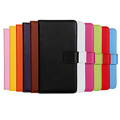 COCO FUN® Luxury Ultral Slim Solid Color Genuine Leather Case for iPhone 4/4S