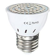 1 개 E27은 smd2835 AC110 / 220V 600lm의 식물 성장 램프 72LED