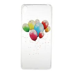 Για Θήκη Sony Διαφανής / Με σχέδια tok Πίσω Κάλυμμα tok Μπαλόνι Μαλακή TPU για Sony Sony Xperia X / Sony Xperia XA / Sony Xperia E5