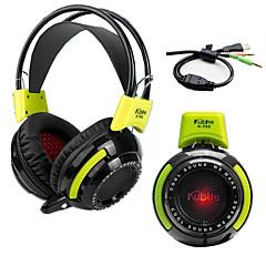 Kubite KT03 Fejhallgatók (fejpánt)ForMédialejátszó/tablet / Mobiltelefon / SzámítógépWithMikrofonnal / Hangerő szabályozás / Játszás /