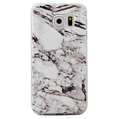 For Samsung Galaxy S7 Edge S6 Case Cover Marble Pattern TPU Material Phone Case S7 S6 Edge S5 S4 S3
