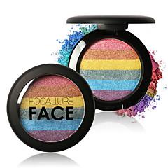 6 Highlighters & Bronzers Droog / Glinstering / Mineraal PoederGlanzende Glitter Lipgloss / Gekleurde Lipgloss / Langdurig /