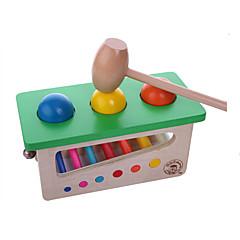 مخفف الضغط / أداة مزح عملية هوايات ألعاب مربع خشب رمادي للأولاد / للبنات