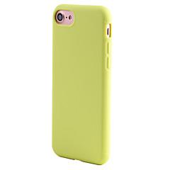 Mert Ütésálló Case Hátlap Case Egyszínű Puha TPU mert AppleiPhone 7 Plus / iPhone 7 / iPhone 6s Plus/6 Plus / iPhone 6s/6 / iPhone