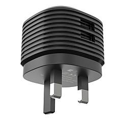vinsic pikalataus / multi-portit kotilaturille / kannettava laturi uk pistoke 2 USB-porttia laturi onlyfor ipad / for kännykkä / muiden