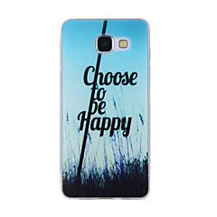 Til Samsung Galaxy A8 (2016) a8 case cover pastoral sceneri malet mønster tpu materiale telefon taske til a7 a5 a3 a510 a310