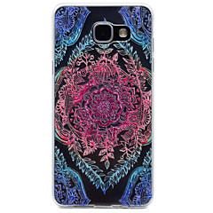 Til Samsung Galaxy A510 a310 kirsebærtræ mønster tpu høj renhed gennemsigtig blød telefon taske