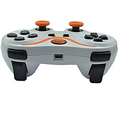 6 assi controller Bluetooth wireless e cavo di carica per console di gioco ps3 (colori assortiti)