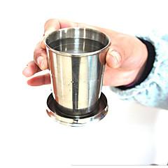 Πρωτότυπα Είδη για Ποτά / Ποτήρια Κρασιού / Κούπες Ταξιδιού 1pcs Ανοξείδωτο Ατσάλι, -  Υψηλή ποιότητα