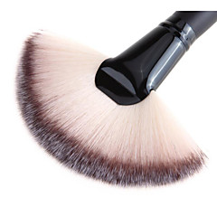 1 Powder Brush Synthetic Hair Wood Face Others