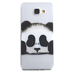 A samsung galaxis a5 a3 (2016) tok fedél panda minta nagy permeabilitás festés tpu anyag telefon tok