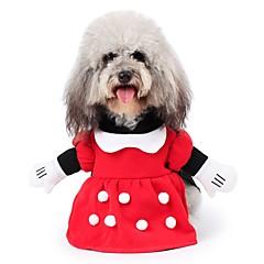 Γάτες Σκυλιά Στολές Παλτά Σύνολα Φούτερ με Κουκούλα Φόρμες Ρούχα για σκύλους Χειμώνας ΧαρακτήρεςCute Μοντέρνα Στολές Ηρώων Διατηρείτε