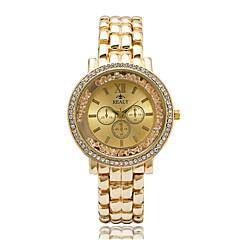 Mujer Reloj de Moda / Reloj de Pulsera Cuarzo / Aleación Banda Cool / Casual Plata / Dorado / Oro Rosa Marca