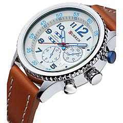 Masculino Relógio Esportivo Relógio Militar Relógio Elegante Relógio de Moda Relógio de Pulso Calendário ImpermeávelQuartzo Quartzo