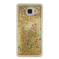 Mert Folyékony Case Hátlap Case Csillámpor Puha TPU mert Samsung A5(2016) / A3(2016)
