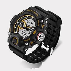 SANDA Hombre Reloj Deportivo Reloj Militar Reloj Smart Reloj de Moda Reloj de Pulsera Digital Cuarzo JaponésLED Cronógrafo Resistente al