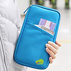 1 Stück Reisegeldbeutel Reisepasshülle & Ausweishülle Wasserdicht Staubdicht Transportabel Multi-Funktion für Kulturtasche Stoff-Schwarz