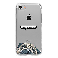 A Pug  TPU Case For Iphone 7 7Plus 6S/6 6Plus/5S SE
