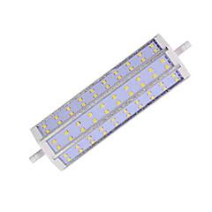 18W R7S LED-lampa T 60LED SMD 2835 1300LM lm Varmvit / Kallvit Dekorativ AC 85-265 V 1 st