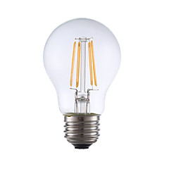 3.5 E26 Lampadine LED a incandescenza A17 4 COB 350 lm Bianco caldo Intensità regolabile AC 110-130 V 1 pezzo