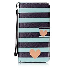 Voor Portemonnee / Kaarthouder / met standaard / Flip hoesje Achterkantje hoesje Hart Hard PU-leer voor AppleiPhone 7 Plus / iPhone 7 /