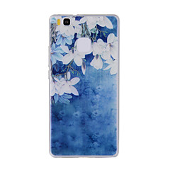 For Huawei Y635 4C 4X 5C 5X P8 P9 P8Lite P9Lite Honor8 Honor7 Honor6 Case Cover Small White Flowers Painted Pattern TPU Material Phone Case
